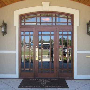 dbyd6001 lb - commercial doors - Doors by Decora