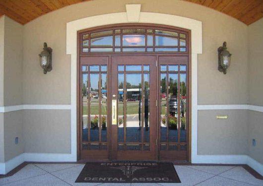 dbyd6001 lb - custom office doors - Doors by Decora