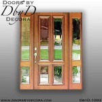 estate 4-Lite front door and sidelites
