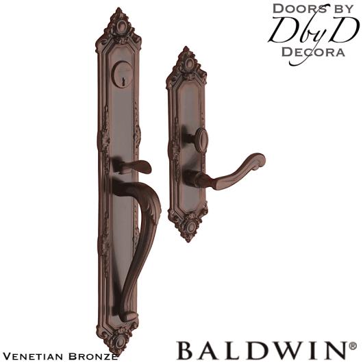 Baldwin venetian bronze kensington full handleset.