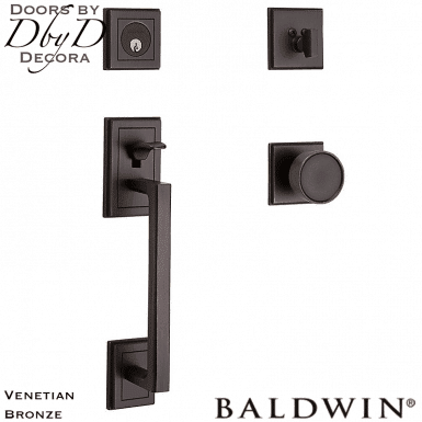Baldwin venetian bronze hollywood hills sectional handleset.