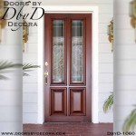 estate four panel wood door