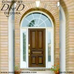 estate five panel wood door