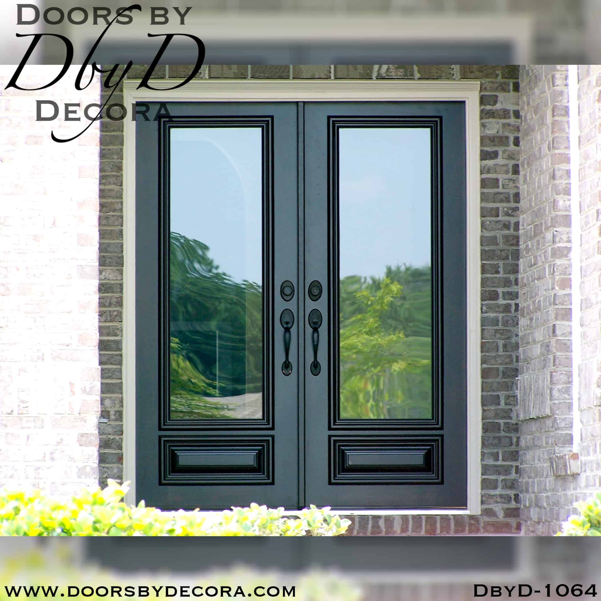Custom Estate Full Lite Wood Door Exterior Entry Glass Doors By Decora
