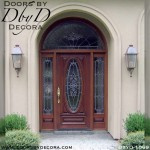 estate oval lite glass door