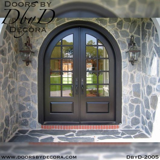 french country radius TDL doors