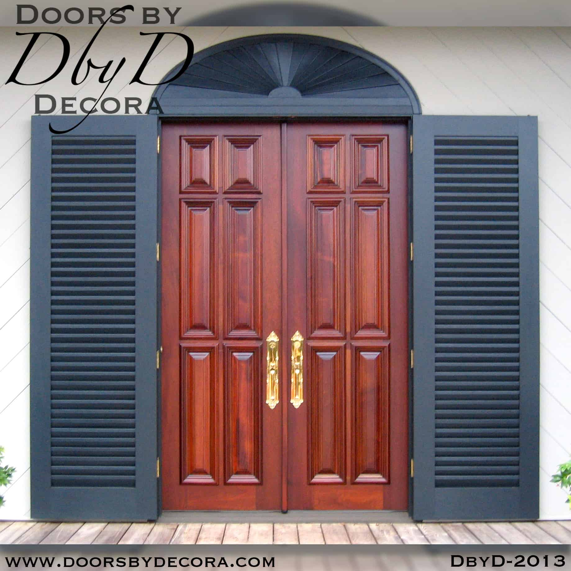 french country 6-panel doors