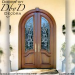 french country lead glass doors