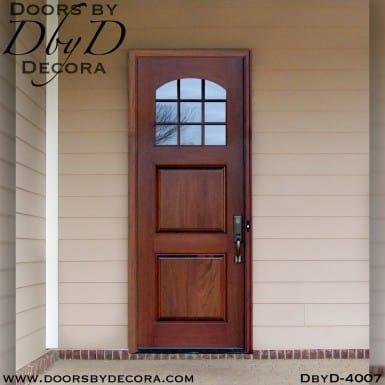 craftsman two panel tdl door