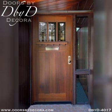 craftsman frank lloyd wright door