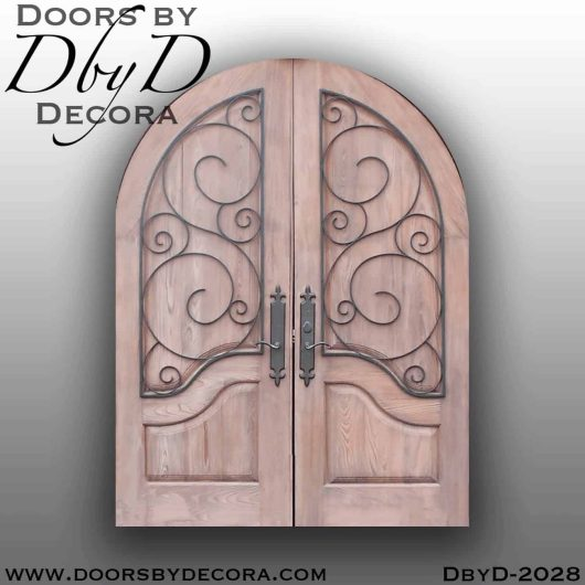 french country door with french country iron gate
