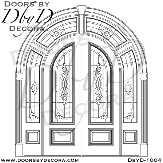 estate double radius double doors