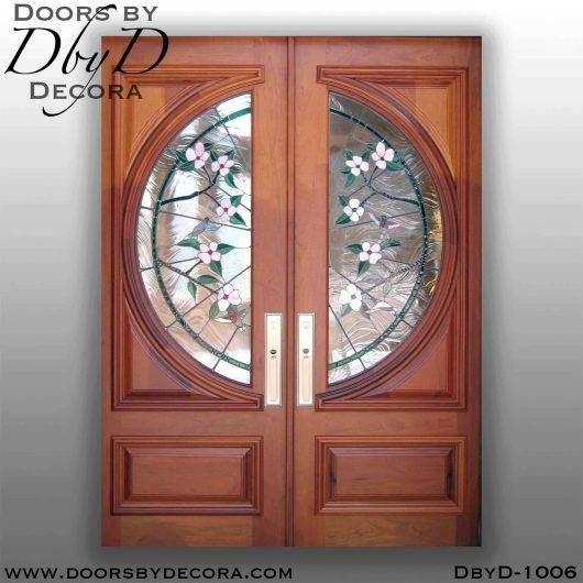 estate hummingbird glass doors