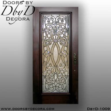 estate leaded glass front door