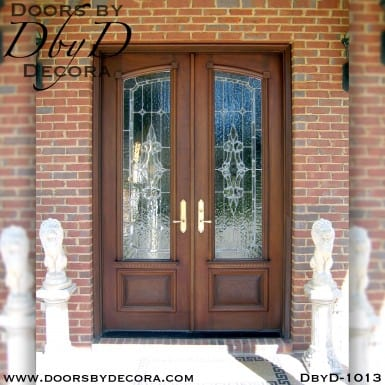 estate leaded glass doors