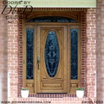 estate oak front door