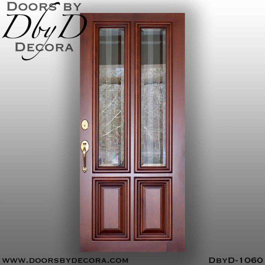 estate four panel wood door