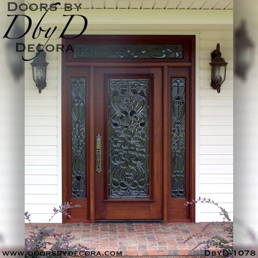 estate beveled glass door