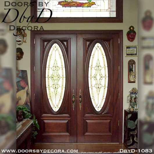dbyd1083a 1 - estate doors with heron glass - Doors by Decora