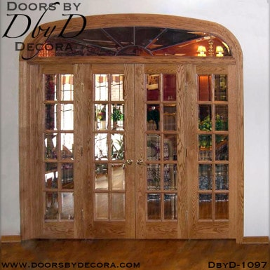 estate interior french doors