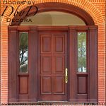 estate solid door colonial entry