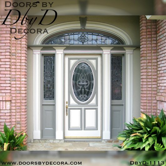 estate painted colonial door