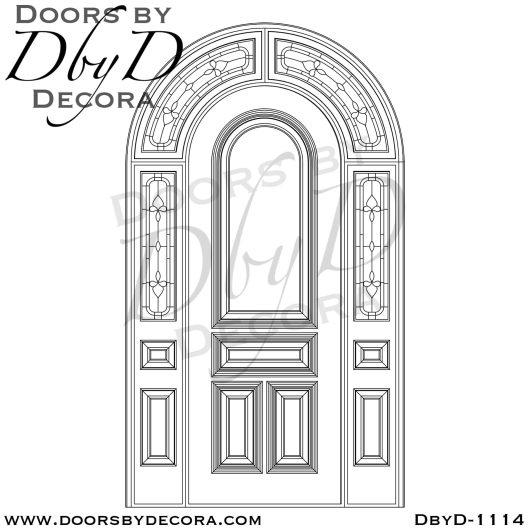 estate wood radius door