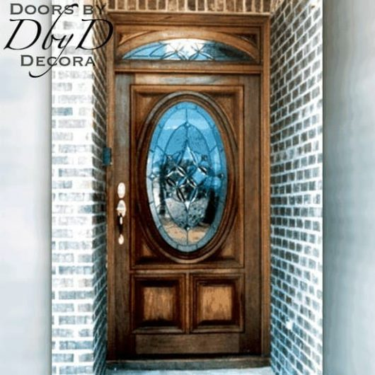 Our standard oval door with our signature RET transom.