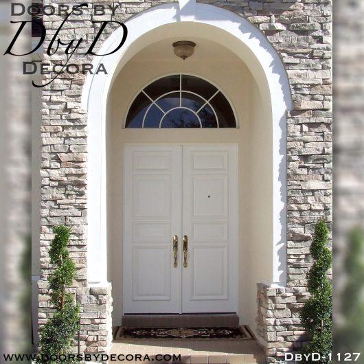 estate white wood doors