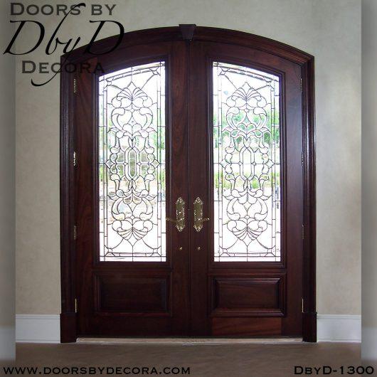 dbyd1300a - estate double doors - Doors by Decora