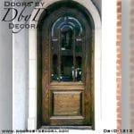 estate divided lite radius door