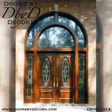 estate extra large entry door