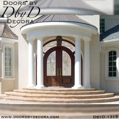 estate double radius entry