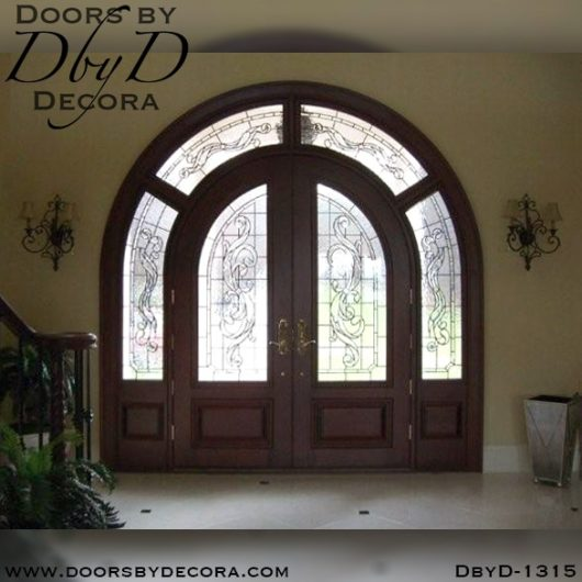 dbyd1315a - estate double radius entry - Doors by Decora