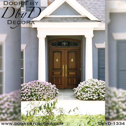dbyd1334a - estate wood double doors - Doors by Decora