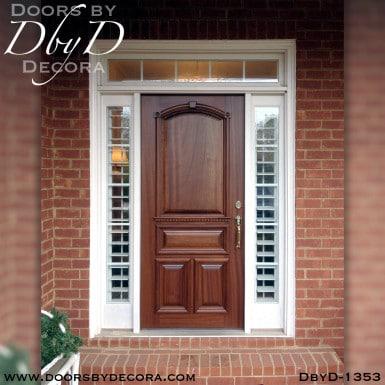 estate mahogany solid door