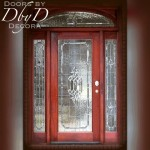 Door and two side lites with our signature RET transom.