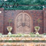 french country iron gate