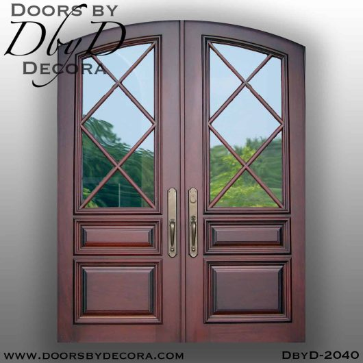 french country tdl double doors