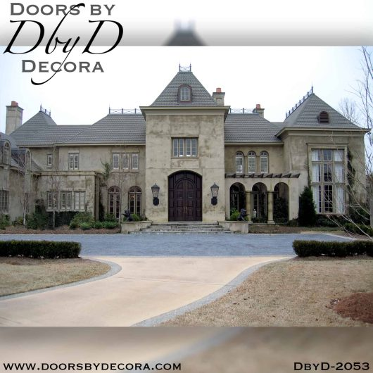 french country extra large doors