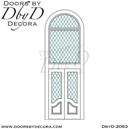 french country double glass doors