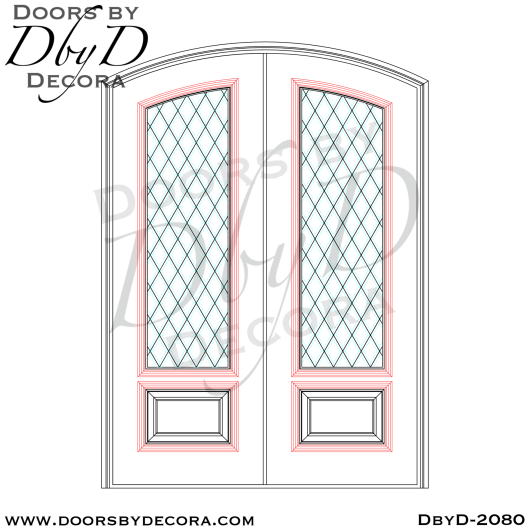 french country elliptical tdl doors