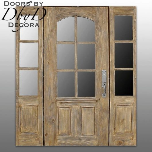 This country french unit has been hand distressed to make t appear older.