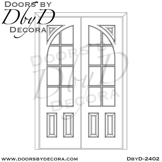 french country double tdl doors