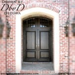 french country two panel doors