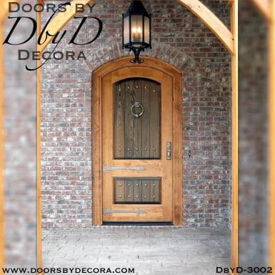 old world rustic door