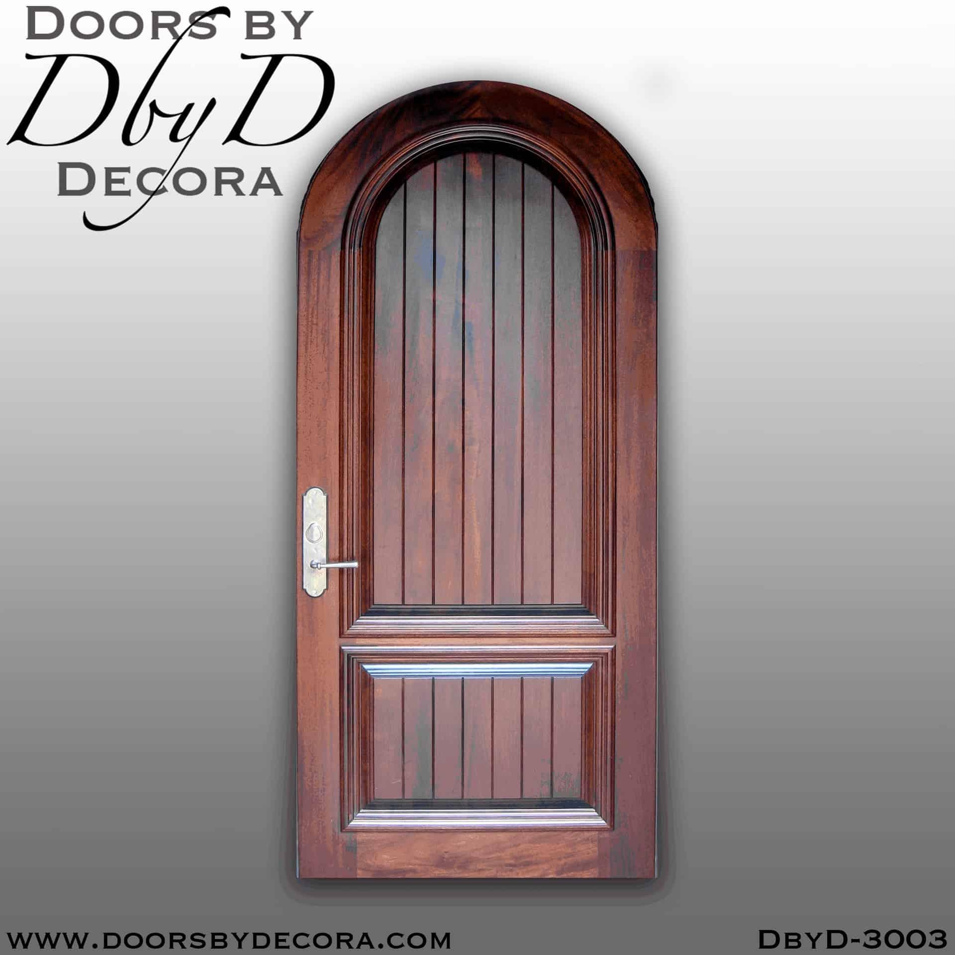 Old World Elegance: Custom Old World Style Elegant Door Front Entry