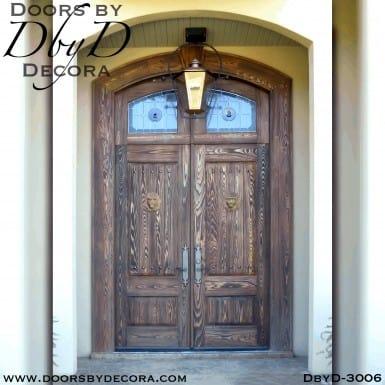 old world distressed doors