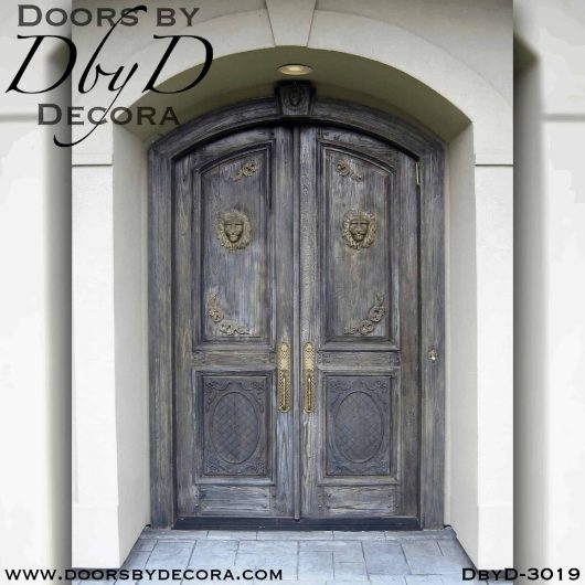 old world tuscan style door