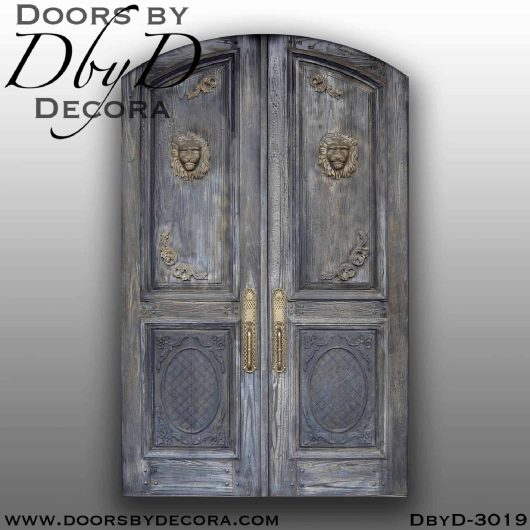 old world tuscan style door